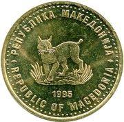 5 denari (FAO) – avers