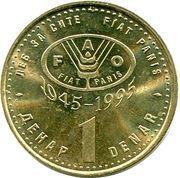 1 denar (FAO) – revers