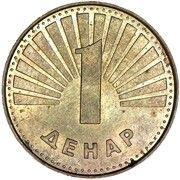 1 denar – revers
