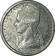 1 franc - SOFIM (Île Juan de Nova) – avers