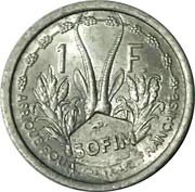 1 franc - SOFIM (Île Juan de Nova) – revers