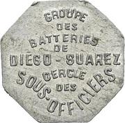 2 francs Diégo-Suarez – avers