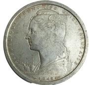 2 francs - SOFIM Îles Glorieuses – avers