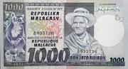 1000 Francs / 200 Ariary (1975) – avers