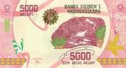 5000 Ariary (2017) – avers
