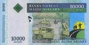 10000 Ariary (2008) – revers
