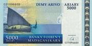 5000 Ariary (2008) – avers