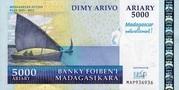"5000 Ariary ""Madagascar Action Plan"" – avers"
