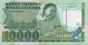 10000 Francs / 2000 Ariary 1988 – avers