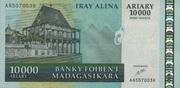 10000 Ariary / 50000 Francs 2007 – avers