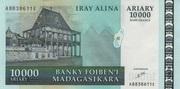10000 Ariary / 50000 Francs 2003 – avers
