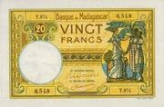 20 Francs Type 1928 -  avers
