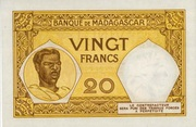 20 Francs Type 1928 – revers