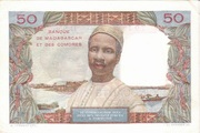 50 Francs Type 1950 – revers