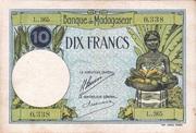 10 Francs Type 1926 – avers