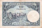 10 Francs Type 1926 – revers