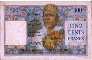 500 Francs Type 1950 – avers