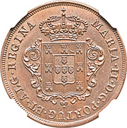 5 reis - Marie II – avers