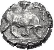 Triobol (Madytos) -  avers
