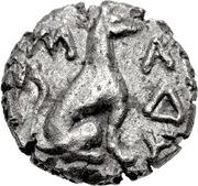 Triobol (Madytos) – revers