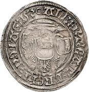 1 Groschen -  Albrecht IV. von Brandenburg (Breitgroschen) – avers