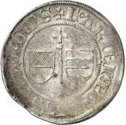 1 Groschen - Friedrich III. von Beichlingen – avers