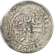 1 Groschen - Friedrich III. von Beichlingen – revers