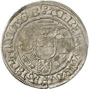 1 Groschen -  Albrecht IV. von Brandenburg – avers