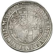 1 Guldengroschen - Albrecht IV. von Brandenburg – revers