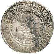 1 Guldengroschen - Albrecht IV. von Brandenburg – avers