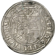 ½ Guldengroschen - Albrecht IV. von Brandenburg – revers