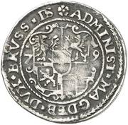 ⅛ Thaler - Joachim Friedrich von Brandenburg – revers
