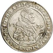 ½ Thaler - Joachim Friedrich von Brandenburg – avers
