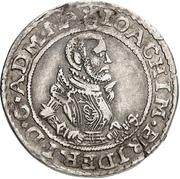 ⅛ Thaler - Joachim Friedrich von Brandenburg – avers