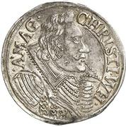 1/14 Thaler - Christian Wilhelm von Brandenburg – avers