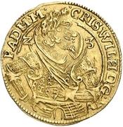 1 Goldgulden - Christian Wilhelm von Brandenburg – avers