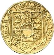 1 Goldgulden - Christian Wilhelm von Brandenburg – revers