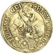 2 Goldgulden - Christian Wilhelm von Brandenburg – avers