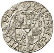 1/16 Schilling - Christian Wilhelm von Brandenburg (Kipper) – avers