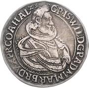 ½ Thaler - Christian Wilhelm von Brandenburg – avers