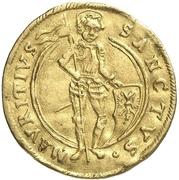 1 Ducat - August von Sachsen-Weissenfels (Enthronement) – revers
