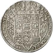 1 Thaler - August von Sachsen-Weissenfels – revers