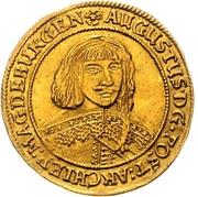 1 Ducat - August von Sachsen-Weissenfels – avers