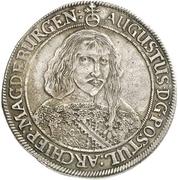 1 Thaler - August von Sachsen-Weissenfels – avers