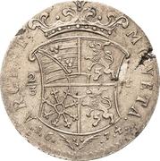 ⅔ Thaler - August von Sachsen-Weissenfels – revers