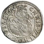 ½ Reichsort - Christian Wilhelm von Brandenburg – avers