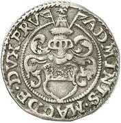 1 Groschen - Joachim Friedrich von Brandenburg – revers