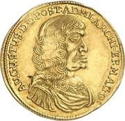 1 Dukat - August von Sachsen-Weissenfels – avers