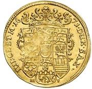 1 Dukat - August von Sachsen-Weissenfels – revers