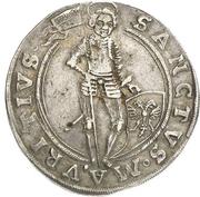 1 Thaler - August von Sachsen-Weissenfels Enthronement – revers
